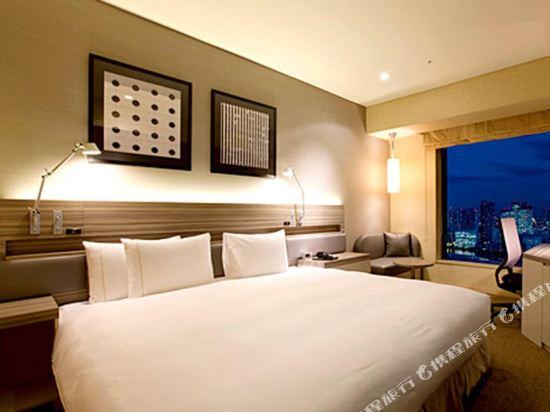 東京汐留皇家花園酒店(The Royal Park Hotel Tokyo Shiodome)標準雙人床房(標準樓層)