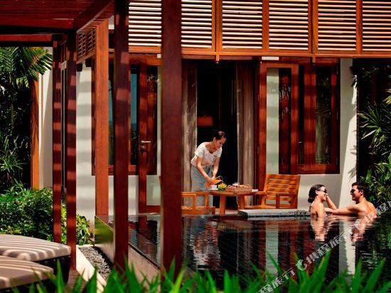 華欣洲際度假酒店(InterContinental Hua Hin Resort)洲際俱樂部特大床海灘別墅