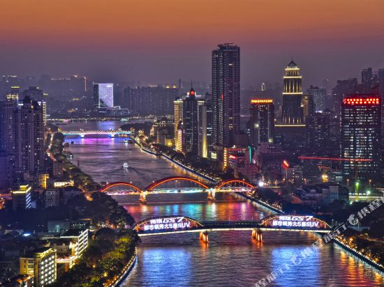 港潤寓上江灣公寓(廣州沿江天字碼頭店)(原江灣大酒店)(Gangrun Yushang Jiangwan Apartment (Guangzhou Yanjiang Tianzi Wharf))行政江景套房一房一廳