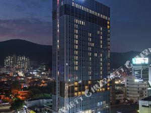 釜山海雲台温德姆華美達安可酒店