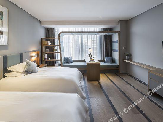 上海Pagoda君亭設計酒店(Pagoda Junting Design Hotel)豪華雙床房
