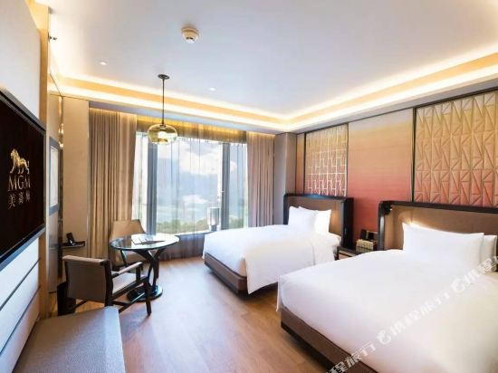 澳門美獅美高梅酒店(MGM Cotai Macau)度假尊尚雙床客房