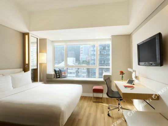 香港今旅酒店(Hotel Jen Hong Kong)貴賓閣山景客房