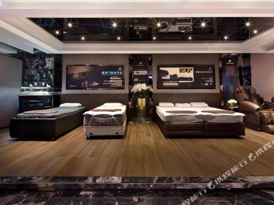慕思健康睡眠酒店(東莞國際展覽中心店)(DeRUCCI Hotel (Dongguan International Exhibition Center))健身娛樂設施