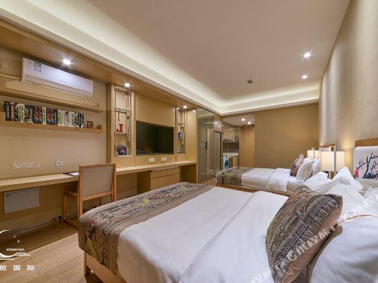 星倫國際公寓(廣州合生廣場店)(Xinglun International Apartment (Guangzhou Hopson Mall))公寓雙床房