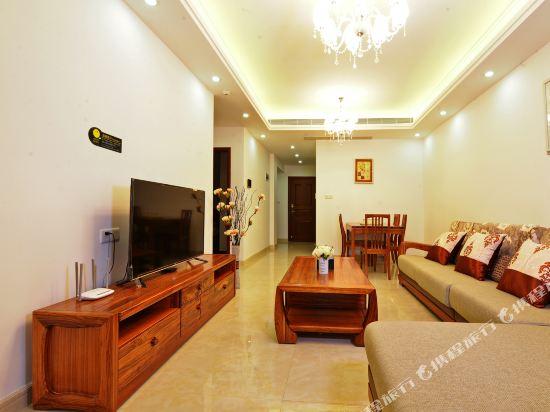 Q加·泰萊童趣主題公寓(珠海橫琴海洋王國店)(Q+ Tailai Tongqu Theme Apartment (Zhuhai Chimelong Ocean Kingdom))琴海灣豪華舒適二房套房