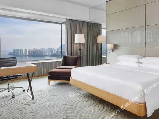 香港沙田凱悅酒店(Hyatt Regency Hong Kong Sha Tin)海景客房