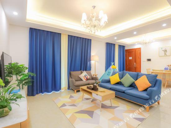 朵雅精品度假公寓(珠海橫琴口岸海洋王國店)(Duoya Boutique Holiday Apartment (Zhuhai Hengqin Port Ocean Kingdom))夏威夷陽光三房一廳套房