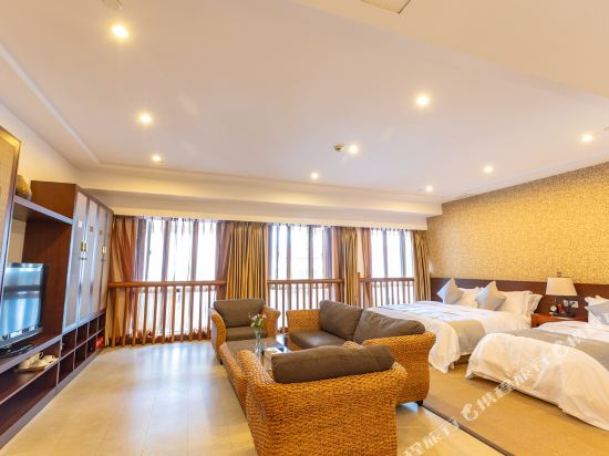 溧陽天目湖御水温泉度假酒店(Yu Shui Hot Spring Hotel)御祥家庭房