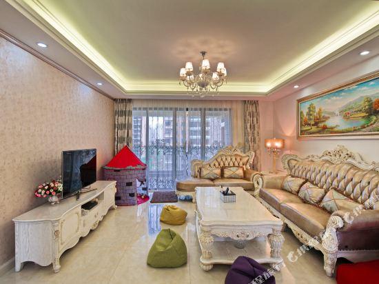 泰萊尚寓度假公寓(珠海海洋王國口岸店)(Tailai Shangyu Holiday Apartment (Zhuhai Ocean Kingdom Port))奢華歐式尊享四房套房