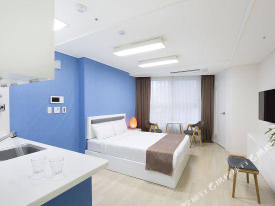 海雲台馬克酒店(Hotel the Mark Haeundae)豪華大床房