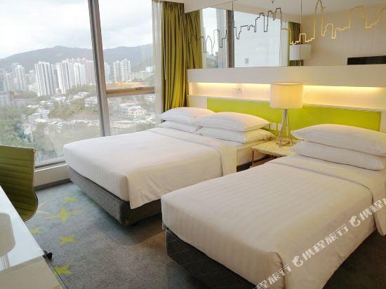 香港荃灣帝盛酒店(Dorsett Tsuen Wan)家庭三人房