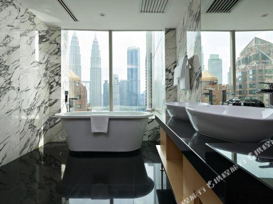 鉑爾曼吉隆坡城市中心大酒店(Pullman Kuala Lumpur City Centre Hotel & Residences)豪華套房(1張特大床)