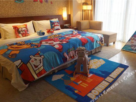 溧陽天目湖御水温泉度假酒店(Yu Shui Hot Spring Hotel)超級飛俠酷芽親子大床房