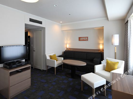 東京東急澀谷卓越大飯店(Shibuya Excel Hotel Tokyu Tokyo)高級豪華雙床房