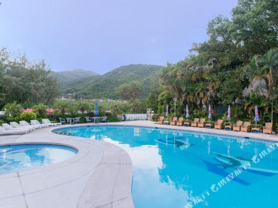 香港銀礦灣渡假酒店(Silvermine Beach Resort)室外游泳池