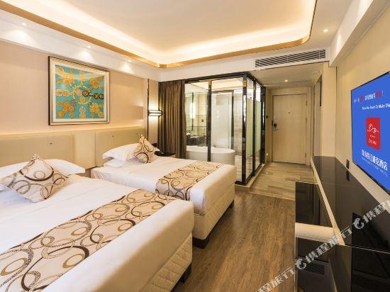 珠海香江維克酒店(Zhuhai Hongkong Victory Hotel)高級雙床房