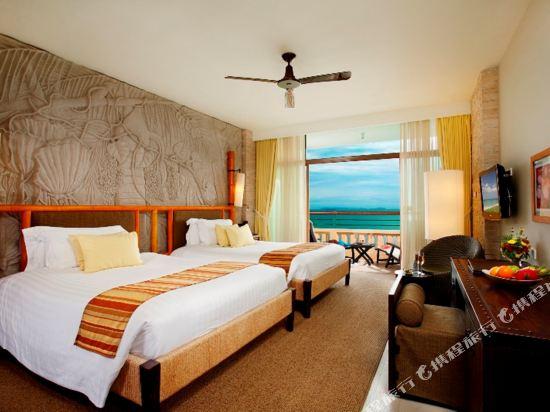 盛泰瀾幻影海灘度假村(Centara Grand Mirage Beach Resort Pattaya)豪華面海家庭房