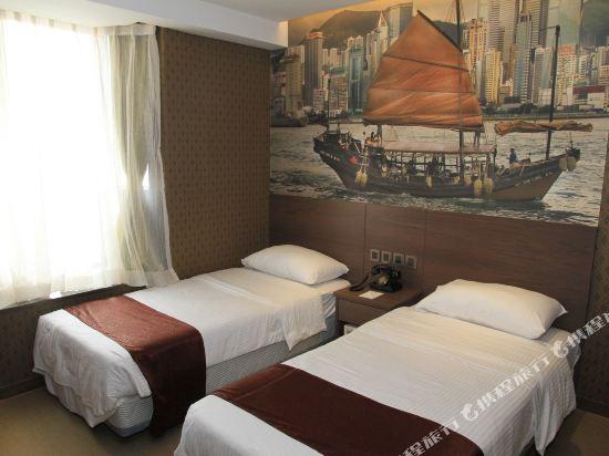 香港朗逸酒店(Largos Hotel)Guest Room - Twin 3