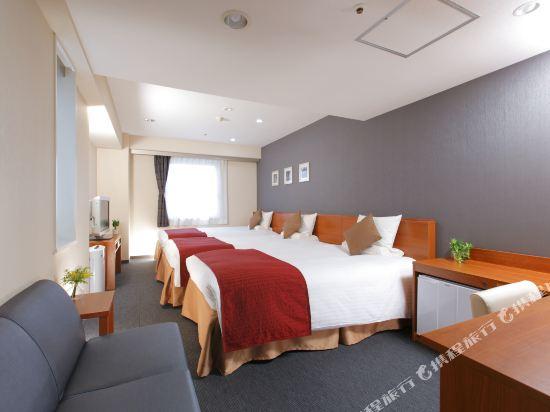 MYSTAYS 名古屋榮酒店(HOTEL MYSTAYS Nagoya Sakae)□デラックスツイントリプル【26㎡ベッド幅120cm×2台】□