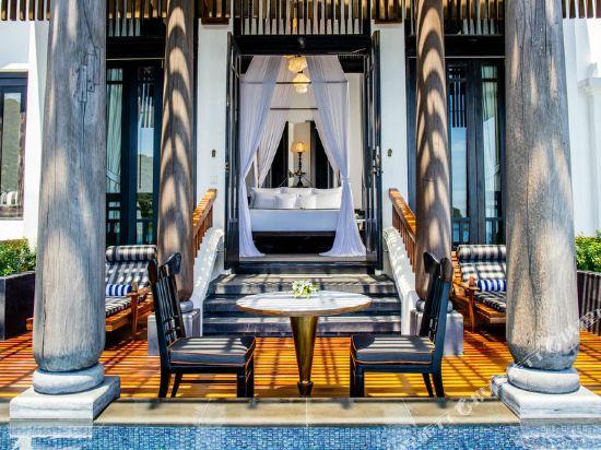 峴港洲際陽光半島度假酒店(InterContinental Danang Sun Peninsula Resort)海濱山崖別墅