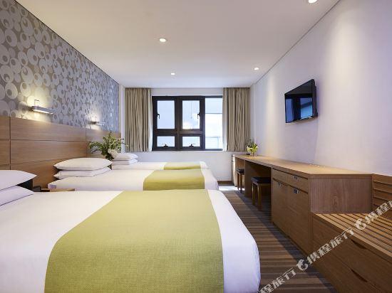 九棵樹酒店(Nine Tree Hotel Myeongdong)標準三人房