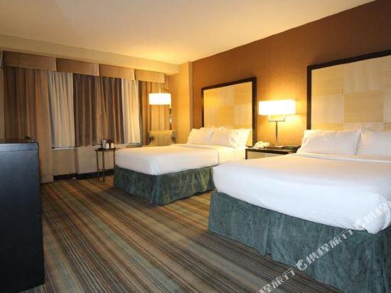 紐約沃森酒店(原紐約曼哈頓第57街假日酒店)(The Watson Hotel (Formerly Holiday Inn Manhattan 57th Street))轉角兩張雙人床房