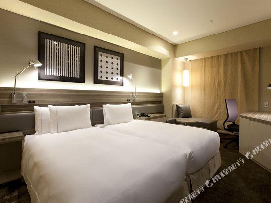 東京汐留皇家花園酒店(The Royal Park Hotel Tokyo Shiodome)標準好萊塢雙床房(標準樓層)