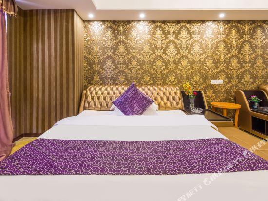 星倫萬達廣場主題公寓(廣州長隆店)(Xinlun Free Hotel International  WanDa)現代主題式大床房