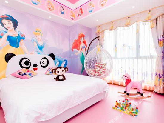 夢幻樂園親子主題公寓(廣州萬達廣場店)(Dreamland Family Theme Apartment (Guangzhou Wanda Plaza))白雪公主度假雙床房