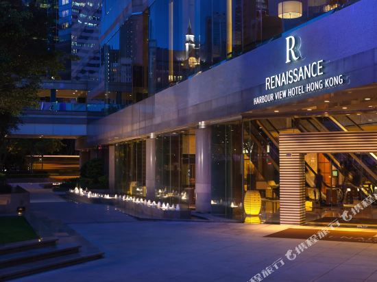 香港萬麗海景酒店(Renaissance Harbour View Hotel Hong Kong)外觀