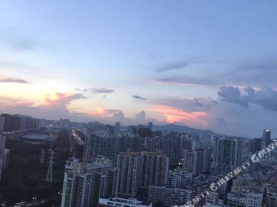 深圳中南海悅大酒店(South China Laguna Hotel)眺望遠景