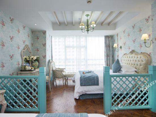 杭州西湖慢享主題酒店(West Lake Manxiang Theme Hotel)法式花園親子房