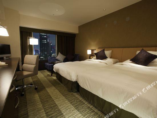 大阪麗嘉皇家酒店(Rihga Royal Hotel)塔翼-自然舒適樓層-標準雙床房