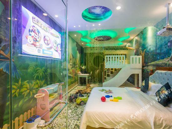 鮮住精品主題酒店(廣州野生動物園店)(原大石地鐵站店)(Xianzhu Boutique Theme Hotel (Guangzhou Wildlife Zoo))奇幻森林滑梯三床房