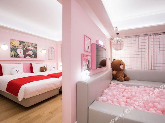 首爾明洞喜普樂吉酒店(原首爾黃金鬱金香M酒店)(Sotetsu Hotels The SPLAISIR Seoul Myeongdong)Line Friends套房