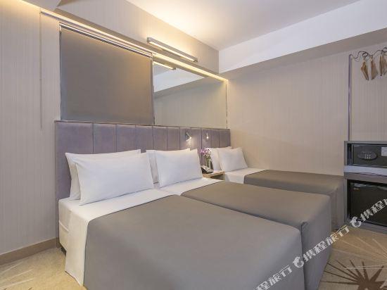 香港遠東絲麗酒店(Silka Far East Hotel)三人客房(無窗)