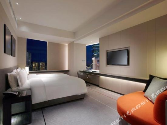 台北寒舍艾麗酒店(Humble House Taipei)景隅首席客房雙床房