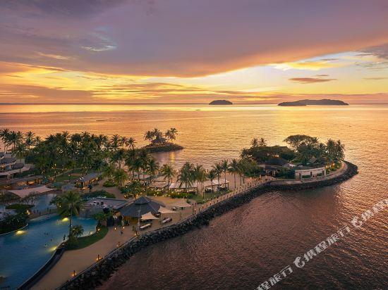哥打京那巴魯香格里拉丹絨亞路酒店(Shangri-La's Tanjung Aru Resort & Spa Kota Kinabalu)外觀