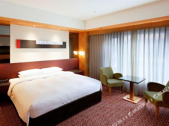 福岡君悅酒店(Grand Hyatt Fukuoka)俱樂部豪華特大床房
