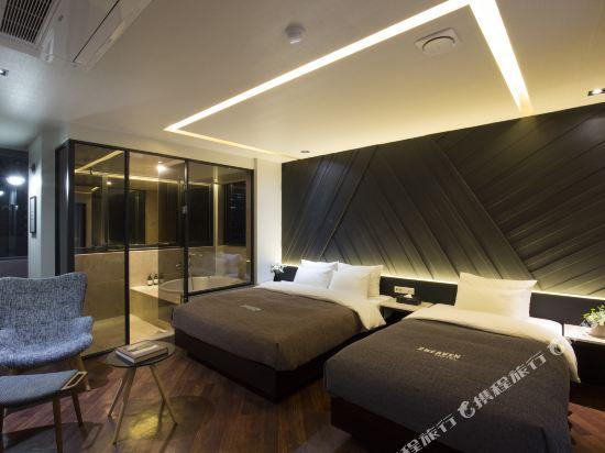 西面館天堂2號酒店(2 Heaven Hotel Seomyeon)頂層套房(帶露台)