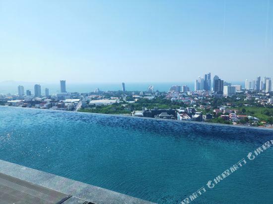 芭堤雅友客酒店式公寓 Pattaya Posh店(Youker Hostel Pattaya Posh)外觀