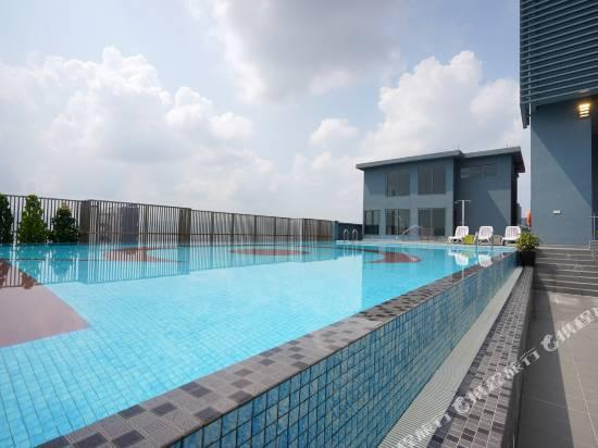 吉隆坡1040三塔舒適工作室OYO公寓
