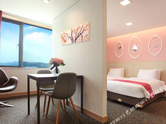 空中花園東大門金斯敦酒店(Hotel Skypark Kingstown Dongdaemun)公寓雙床房