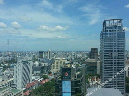 曼谷洲際酒店(InterContinental Bangkok)眺望遠景