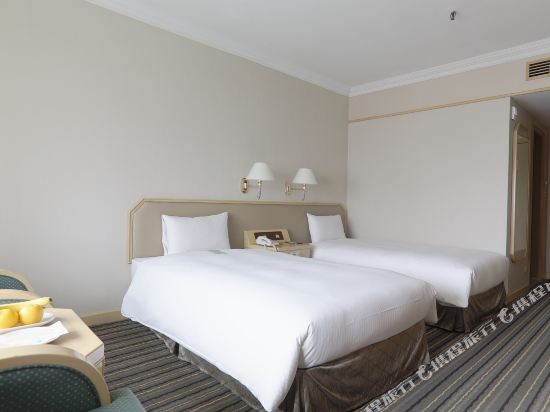 台北三德大飯店(Santos Hotel)標準雙床房
