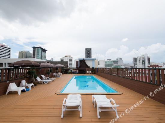 暹羅特瑞酒店(True Siam Rangnam Hotel)室外游泳池