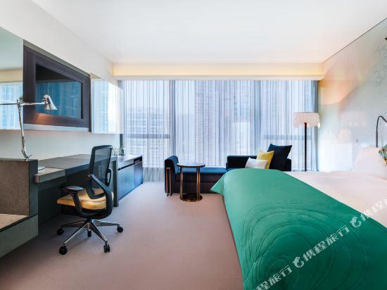 香港W酒店(W Hong Kong)城市景觀奇妙客房