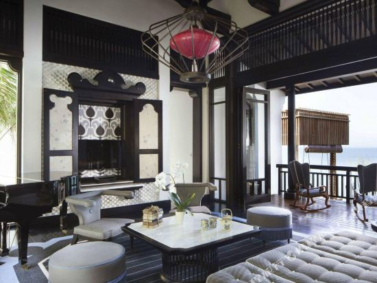 峴港洲際陽光半島度假酒店(InterContinental Danang Sun Peninsula Resort)雙卧海濱皇家別墅