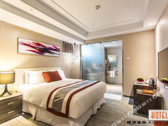 高雄蒂亞飯店-愛河館(Hotel-D)標準雙床房